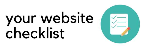 choose a web host website checklist
