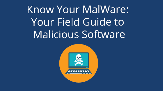 Know Your MalWare: Your Field Guide to Malicious Software