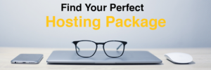 Finding the Perfect Hosting Package Header Image