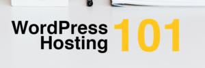 WordPress Hosting 101 Header Image