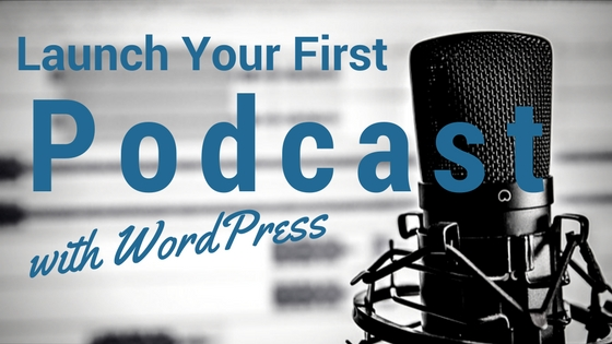 how to start a podcast with wordpress and pair networks hosting header