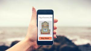 ecommerce website mobile