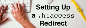 Setting up a .htaccess file header image