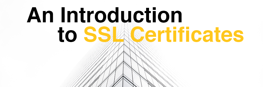 Introduction to SSL Certificates heading image