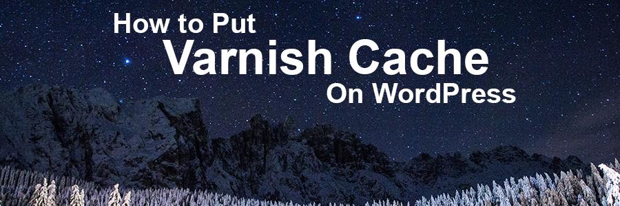 How to Put Varnish Cache on WordPress Header Image