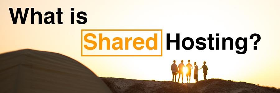 What is Shared Hosting Header image