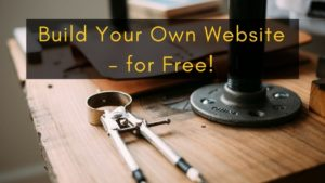 build your own website for free with weebly