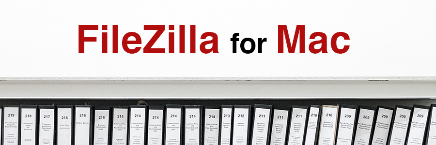 FileZilla for Mac header image