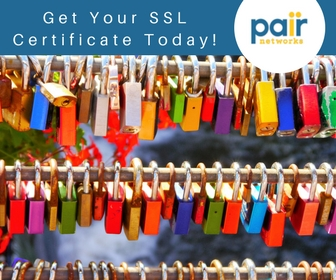 click here to secure your site with an ssl cert from pair networks