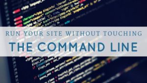 run your site without the command line pair networks control center