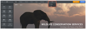 desktop icon in weebly image