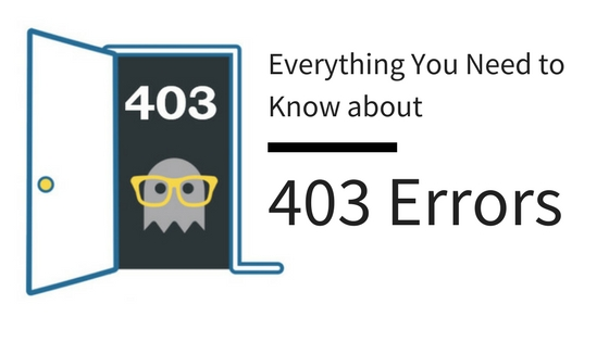 everything you need to know about 403 errors section header