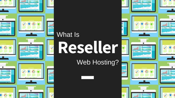 What is reseller web hosting? section header