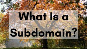 What is a subdomain blog.pair.com header