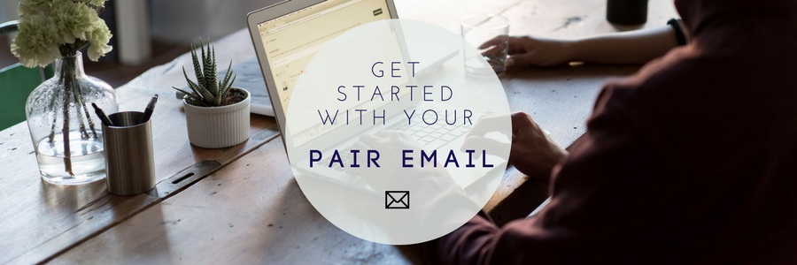 pair email section image
