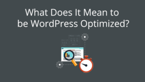 What Does It Mean to be WordPress Optimized