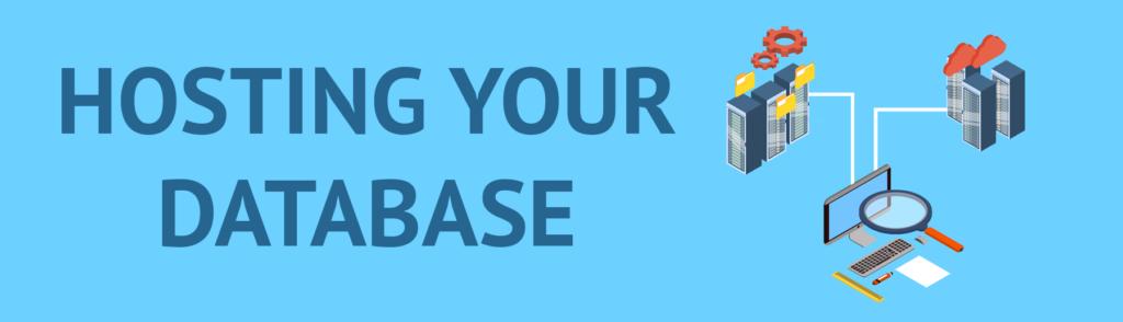 hosting your database header image