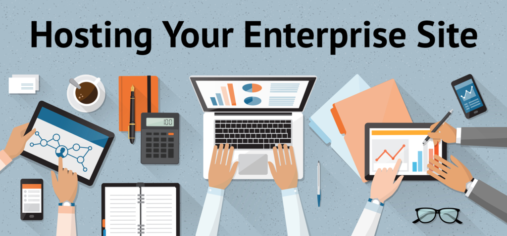 hosting your enterprise site header image
