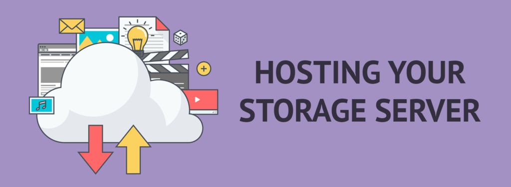 hosting your storage server image
