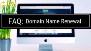 FAQ domain renewal by pair domains