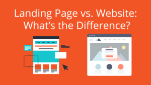 Landing Page vs Website: What's the Difference?