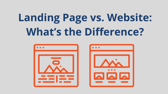 Landing Page vs. Website: What's the Difference?