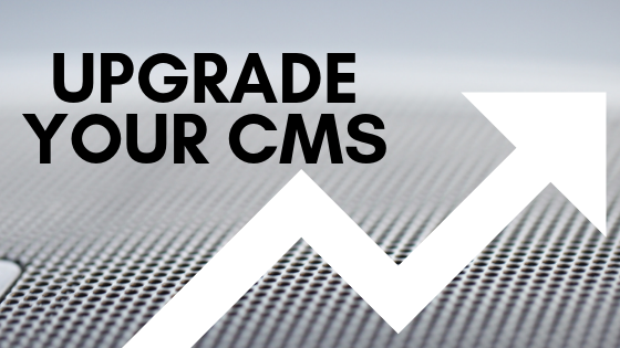 upgrade your cms blog title card
