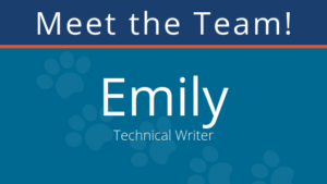 meet the team: emily, technical writer at pair