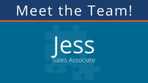 meet the team: Jess B. pair Sales Associate