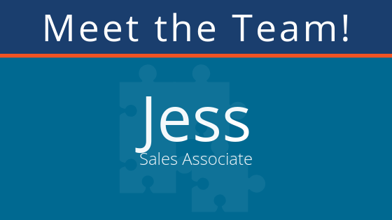 meet the team: Jess B. pair Sales Associate