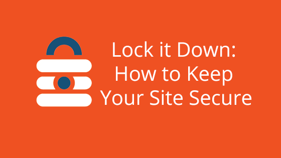 Lock it Down: How to Keep Your Site Secure